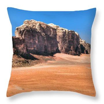 Across Wadi Rum Throw Pillow