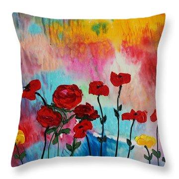Acrylic Msc 101 Throw Pillow