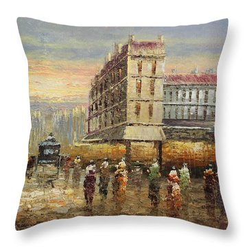 Acrylic Msc 132 Throw Pillow