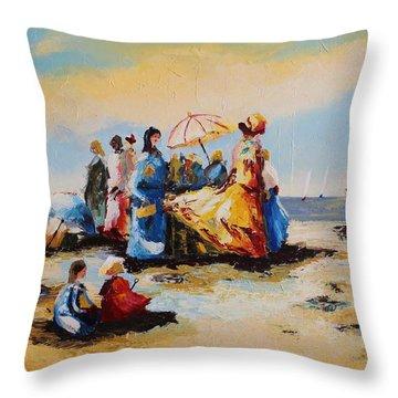 Acrylic Msc 191 Throw Pillow