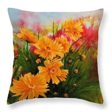 Acrylic Msc 216 Throw Pillow