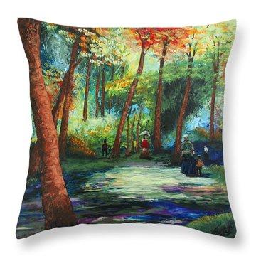Acrylic Msc 217 Throw Pillow