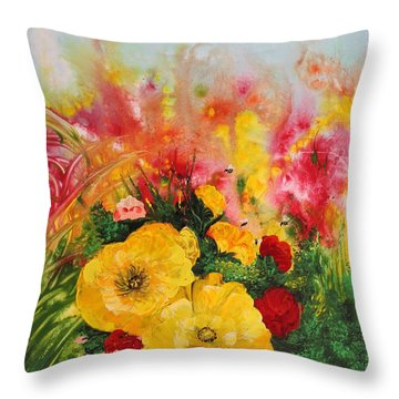 Acrylic Msc 218 Throw Pillow