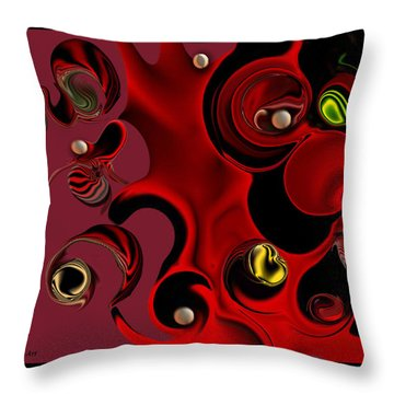 Act With Manufactured Energy Throw Pillow