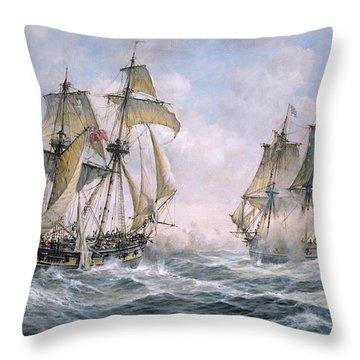 Ship Throw Pillows