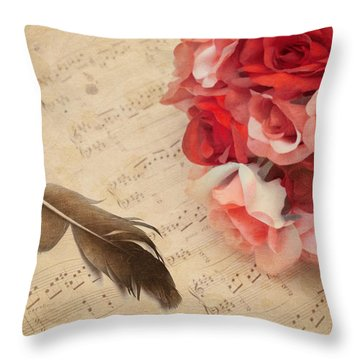 Adagio Sostenuto Throw Pillow