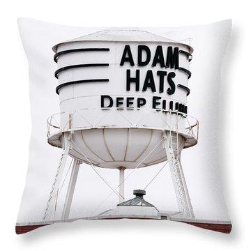 Adams Hats Deep Ellum Texas 061818 Throw Pillow