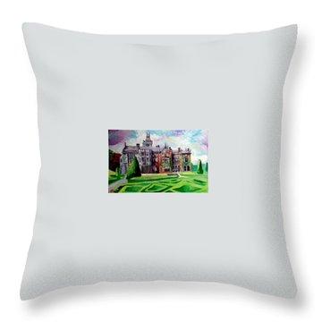 Adare Manor Co Limerck Ireland Throw Pillow
