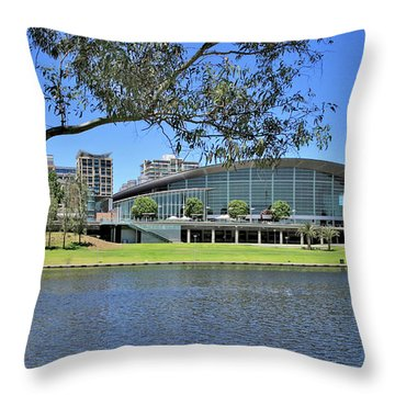 Adelaide Convention Centre Throw Pillow