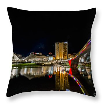 Adelaide Riverbank Throw Pillow