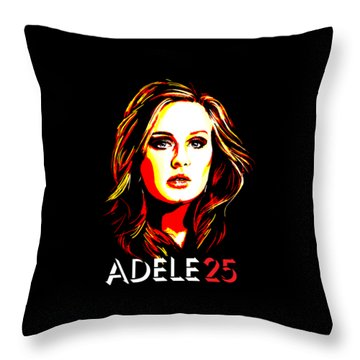 Adele 25-1 Throw Pillow