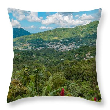 Adjuntas Throw Pillow