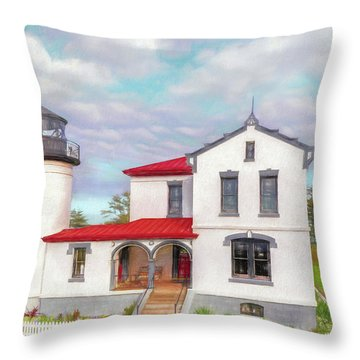 Admiralty Head Imagined Throw Pillow