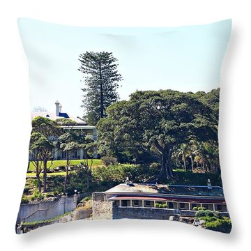 Throw Pillow featuring the photograph Admiralty House by Stephen Mitchell