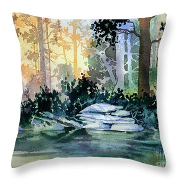 Admiralty Island Throw Pillow