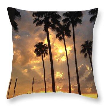 Admiration Throw Pillow