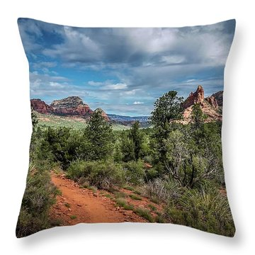 Adobe Jack Trail Throw Pillow