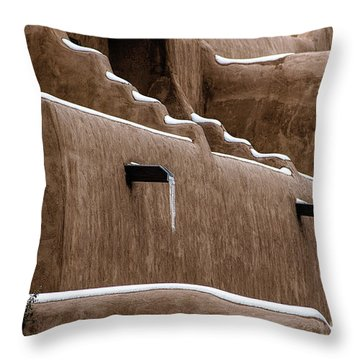 Adobe Walls Throw Pillow