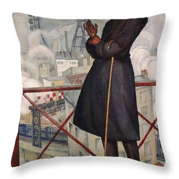 Adolfo Best-maugard Throw Pillow by Granger