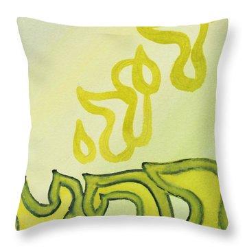 Adonai Rophe - God Heals Throw Pillow