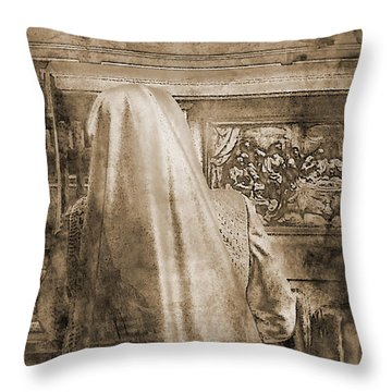 Adoration Chapel 2 Throw Pillow
