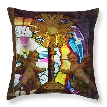 Adoration Chapel 4 Throw Pillow