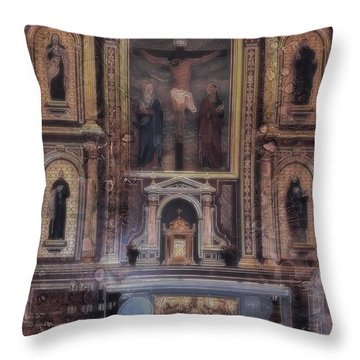 Adoration Chapel 5 Throw Pillow