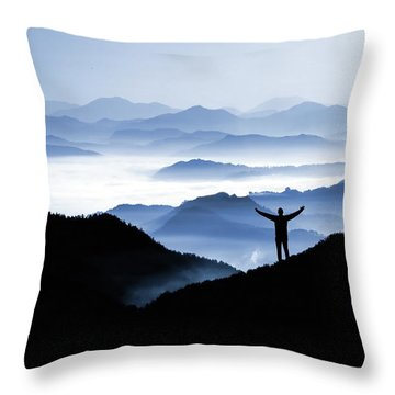 Adoration Of Natural Beauty Throw Pillow