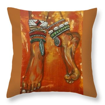 Adornment Throw Pillow
