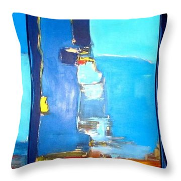 Adriatic  Throw Pillow