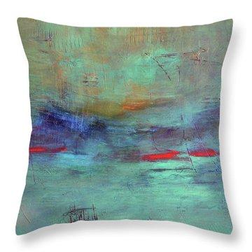 Adrift Throw Pillow by Filomena Booth