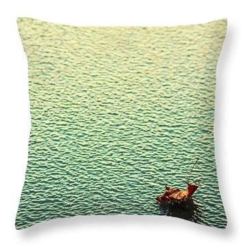 Adrift In A Sea Of Ennui Throw Pillow