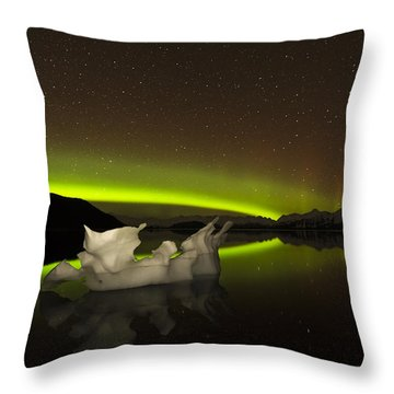 Adrift Throw Pillow by Ted Raynor
