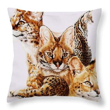 Adroit Throw Pillow