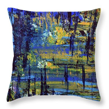 Adventure  Throw Pillow by Cathy Beharriell