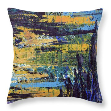 Adventure IIi Throw Pillow by Cathy Beharriell