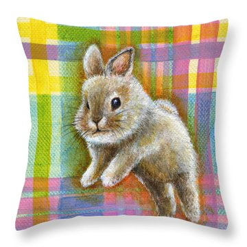 Adventure Throw Pillow by Retta Stephenson