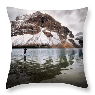Adventure Unlimited Throw Pillow by Nicki Frates