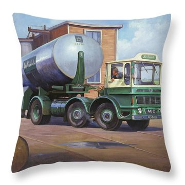 Aec Air Products Throw Pillow by Mike  Jeffries