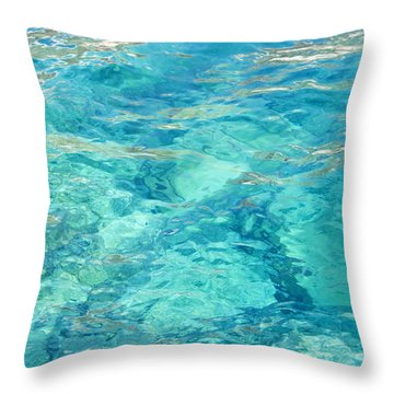 Aegean Bliss Throw Pillow