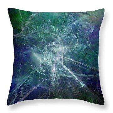 Aeon Of The Celestials Throw Pillow