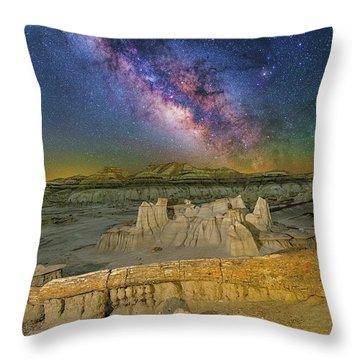 Aeons Of Time Throw Pillow