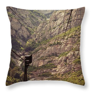 Aeri De Montserrat Throw Pillow
