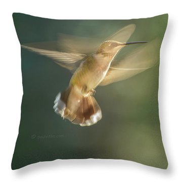 Aerial Dancing.... Throw Pillow