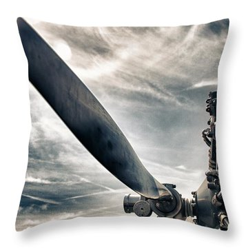Machinery Throw Pillows