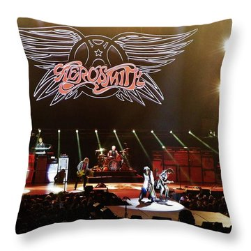 Aerosmith Throw Pillow