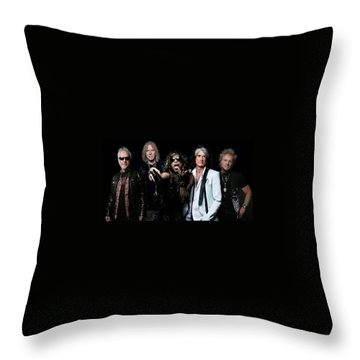 Aerosmith Throw Pillow by Sean