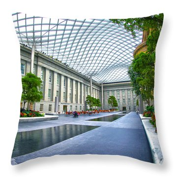 Aesthetic Emotion  Throw Pillow
