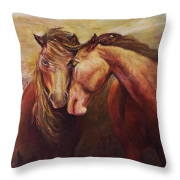 Affection Throw Pillow