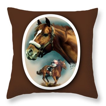 Affirmed With Name Decor Throw Pillow